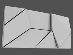 Pannello Origami 3D