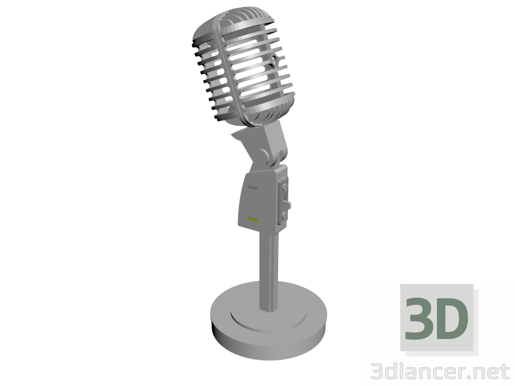 3d model Microphone - preview