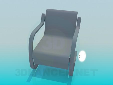 3d модель Стул в стиле модерн – превью
