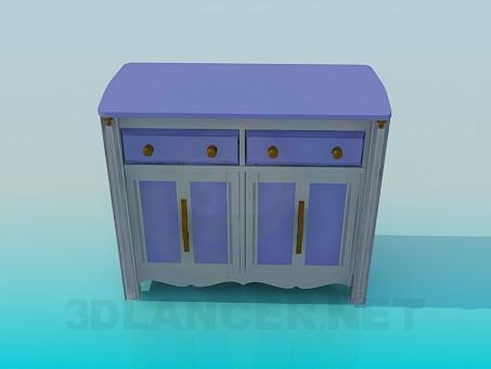 descarga gratuita de 3D modelado modelo Piso mesa permanente