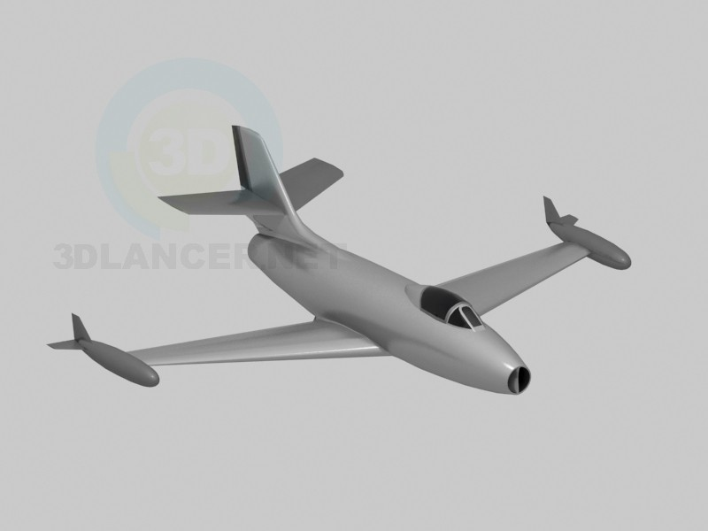 3d modeling dasault ouragan model free download