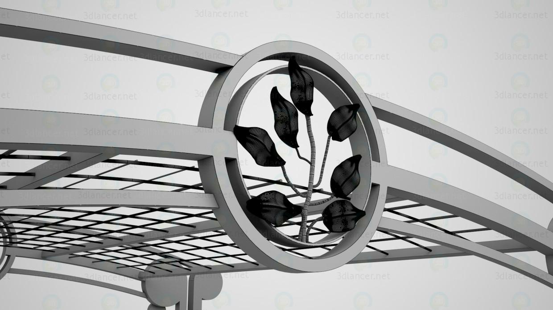 3d Пергола модель купити - зображення