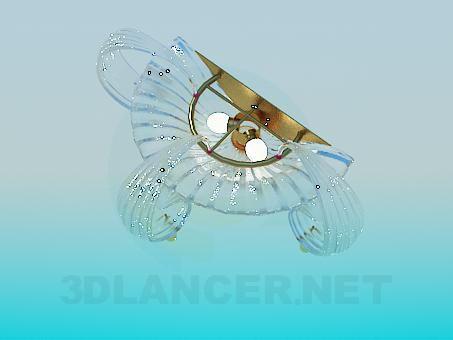 modelo 3D Aplique vidrio - escuchar