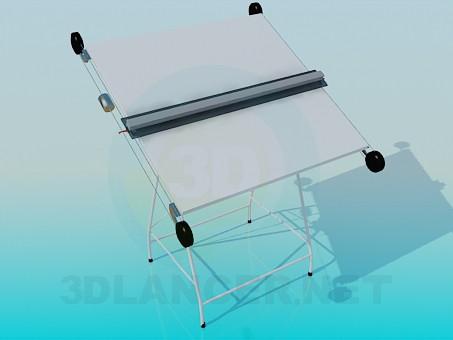 3d модель Инженерная установка для черчения – превью