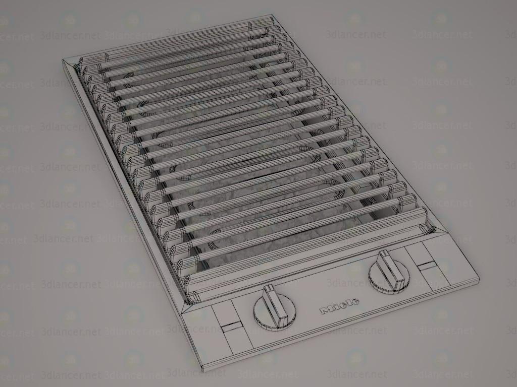 modelo 3D parrilla de Combi. Miele CS 1312 BG - escuchar