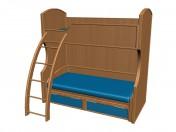 Кровать 2-х ярусная К905