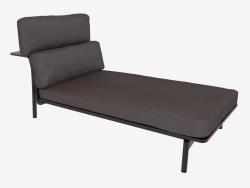 Sofá de cuero de SLED