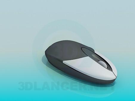 modelo 3D Ratón inalámbrico - escuchar