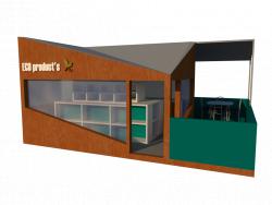 Öko-Shop-Konzept