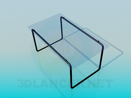3d modeling Coffee table in minimalism style model free download