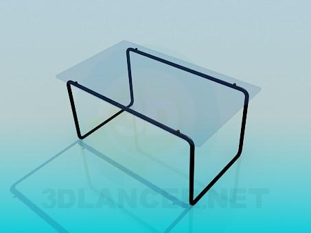 3d модель Журнальный стол в стиле минимализма – превью