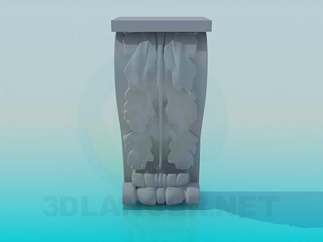 descarga gratuita de 3D modelado modelo Elemento de decoración