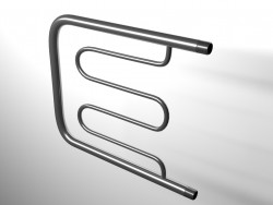 Towel warmer nickel plated
