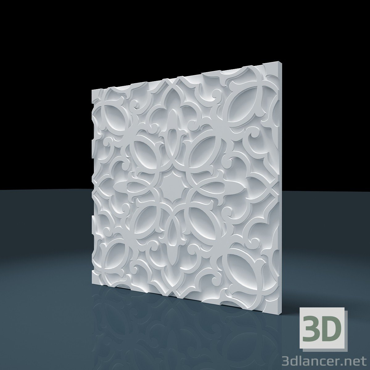 "3d modeling 3D panel ""Persian"" model free download"