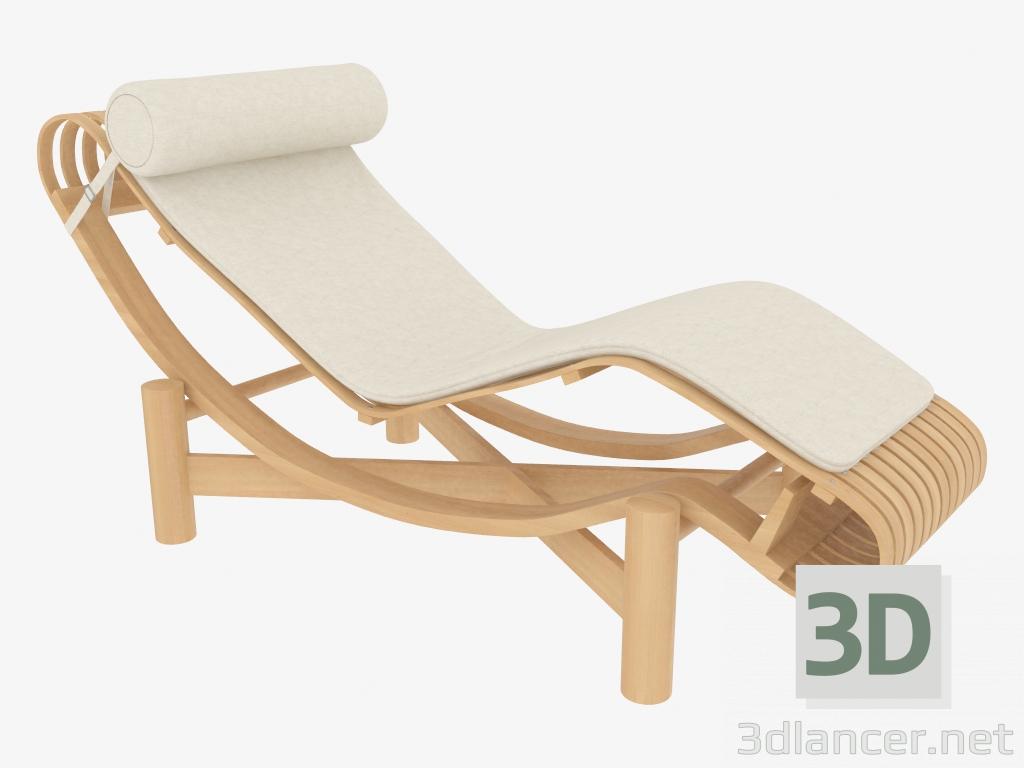 modèle 3D 522 TOKYO Chaise CHAISE LONGUE - preview