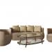3d Living Room Furniture model buy - render