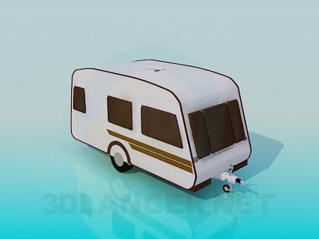 descarga gratuita de 3D modelado modelo Carro cubierto