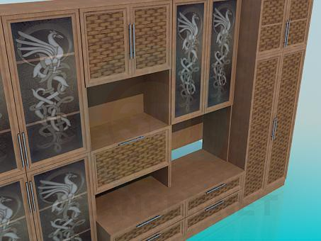 3d model Panel with braid - preview