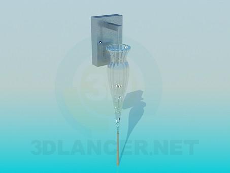 descarga gratuita de 3D modelado modelo Lámpara de pared