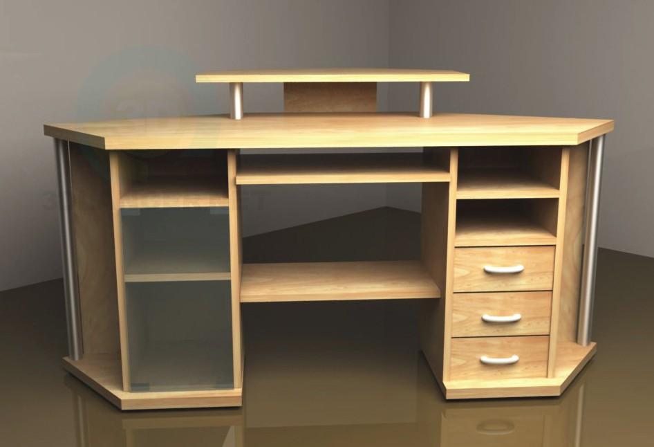 3d модель стол для компьютера – превью