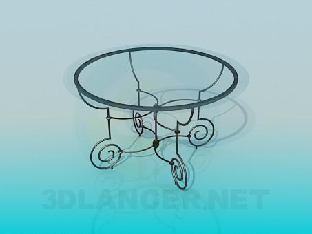 3d модель Кофейный столик – превью