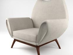 Rare fauteuil kurt østervig, Danemark des années 1960
