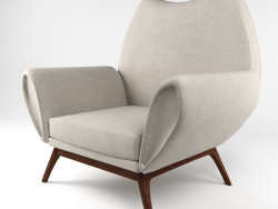 Raro kurt østervig lounge chair, danese anni '60