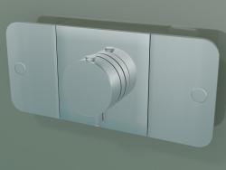 Shower faucet, 2 outlets (45712000)