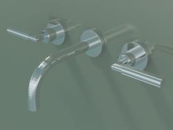Miscelatore lavabo a parete senza scarico (36707882-000010)
