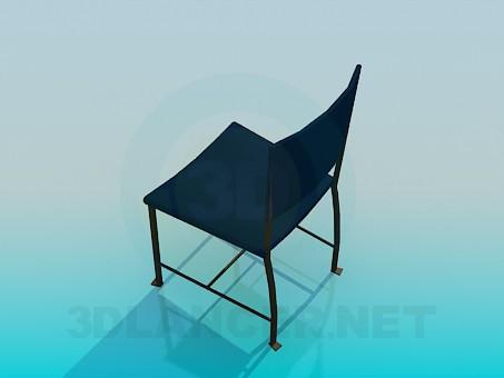 modelo 3D Silla - escuchar
