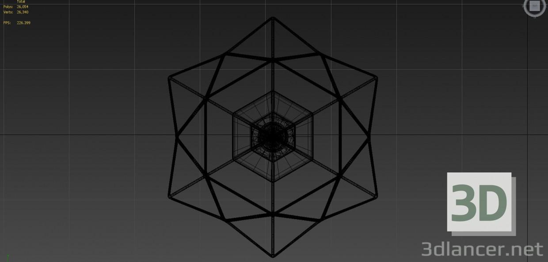 3d Diamonds light model buy - render