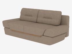 Диван-ліжко прямий двомісний