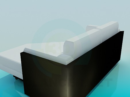 3d модель Угловой диван – превью