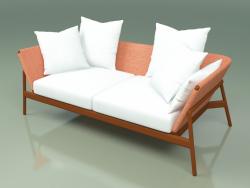 Sofa 002 (Metal Rust, Batyline Orange)
