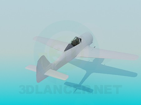 modelo 3D Focke Wulf FW190 A3 - escuchar