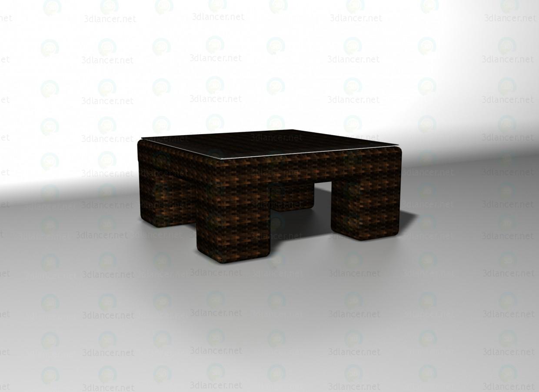 3d модель Mazara столик – превью