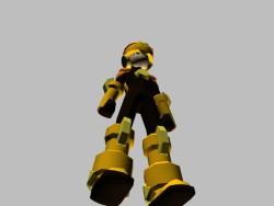 Personagem Rockman