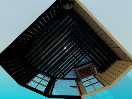 descarga gratuita de 3D modelado modelo Sauna