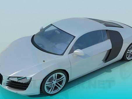 3d модель Audi R8 – превью