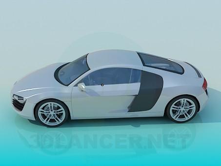 3d model Audi R8 - preview