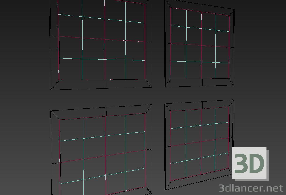 3d модель Декоративная рамка – превью