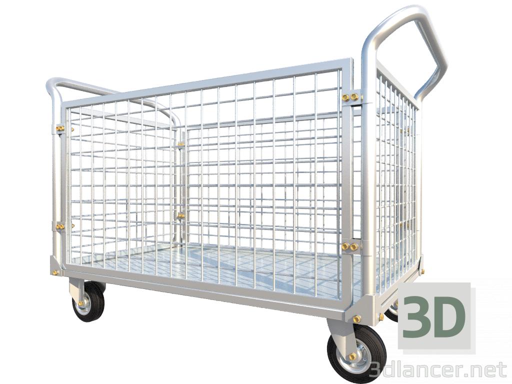 3 डी मॉडल ट्रक - पूर्वावलोकन