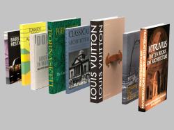 Un ensemble de livres Fornasetti et Vuitton