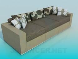 Диван-софа с подушками