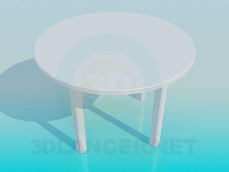 modelo 3D Mesa de la barra - escuchar