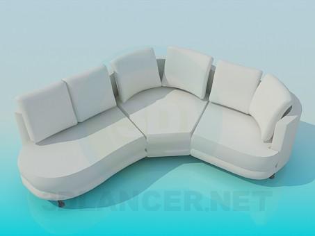 descarga gratuita de 3D modelado modelo Esquina de suave