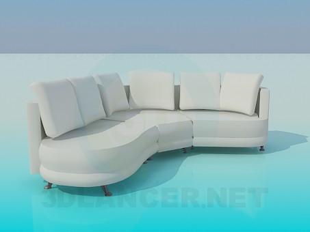 3d model Soft corner - preview