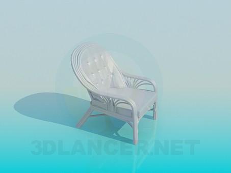 3d модель Стул – превью