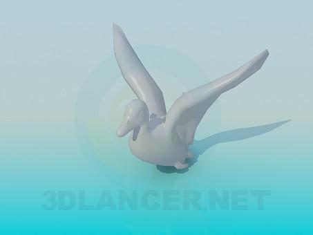 3d model Duck - preview