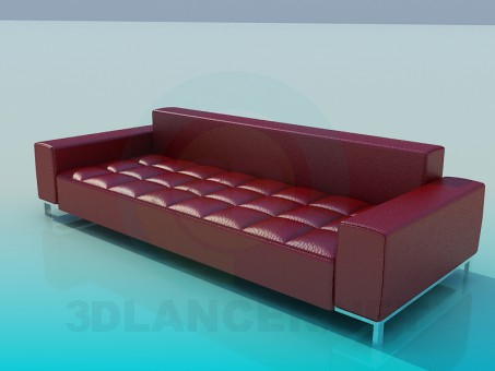 3d model A sofa in a cage - preview